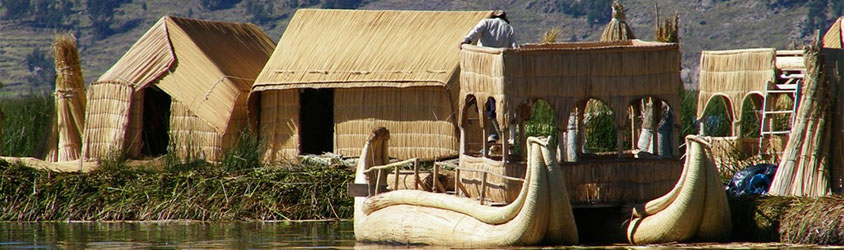 Floating Islands Uros, Lake Titicaca